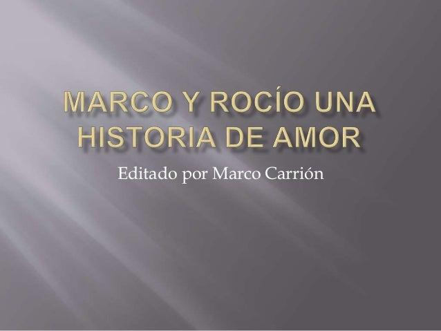 Editado por Marco Carrión