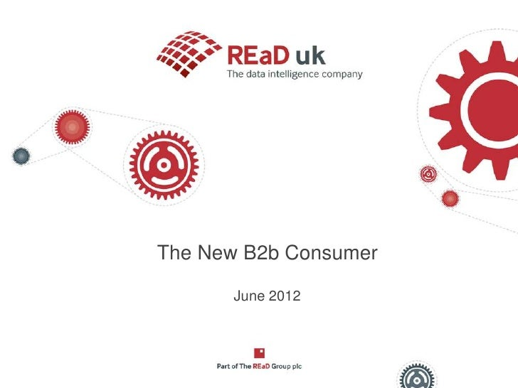 The new B2B consumer - The ReAD Group
