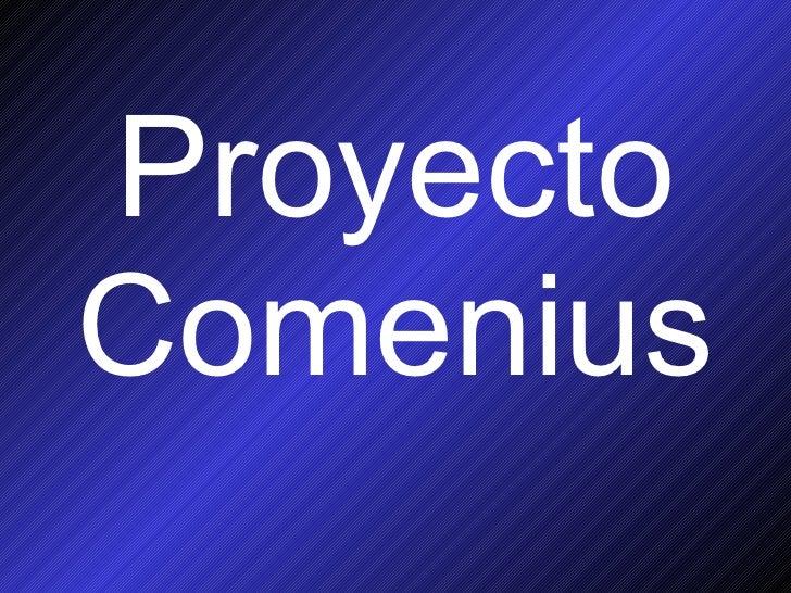 Proyecto Comenius