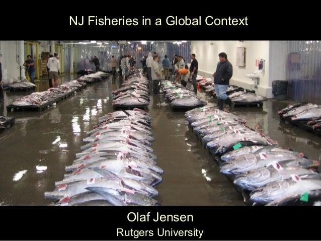 NJ Fisheries in a Global Context Olaf Jensen Rutgers University
