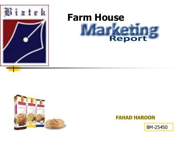 Farm House  MARKETING PRESENTATION  BM-25450