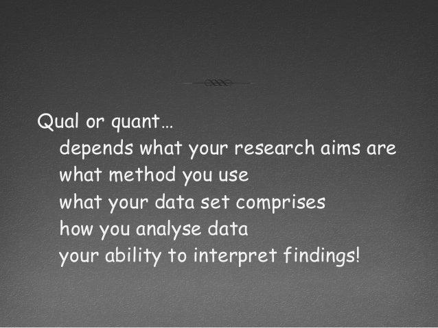 qual research