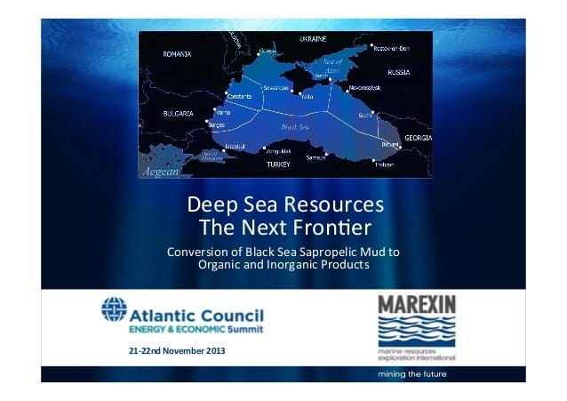 Deep Sea Resources The Next Frontier