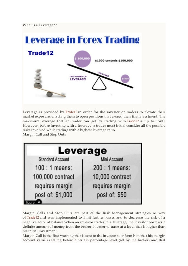 Forex broker leverage
