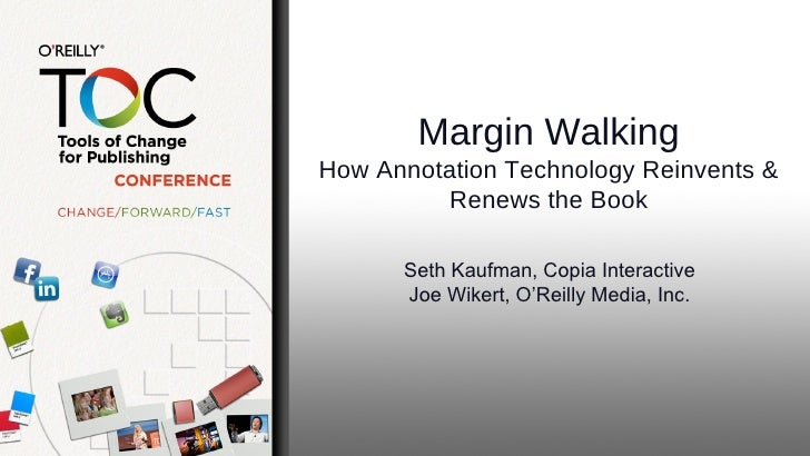 Slides for Margin Walking session with Seth Kaufman of Copia at TOC NY