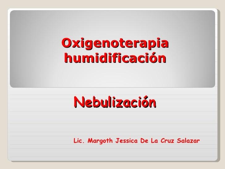 oxigenoterapia lic Mrgoth