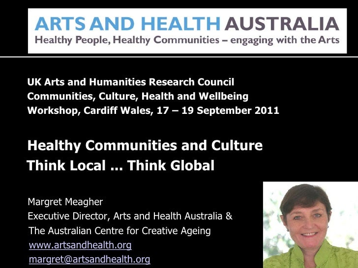 Margret Meagher (Arts and Health Australia)