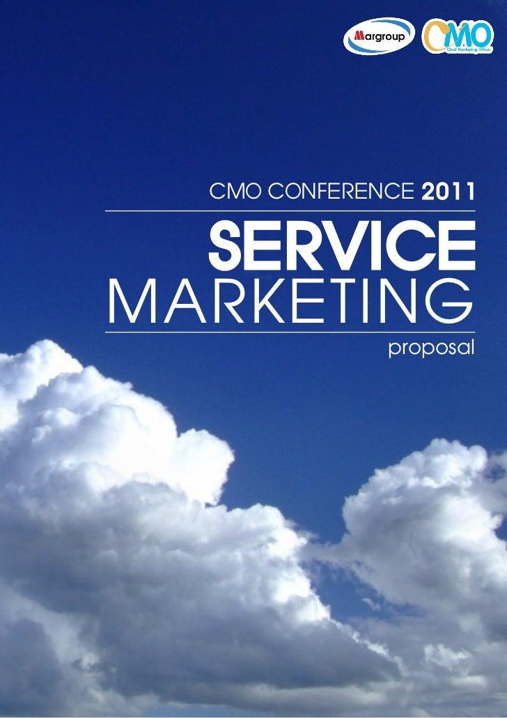 Sponsorship CMO Conference 2011 - Truly Service Marketing