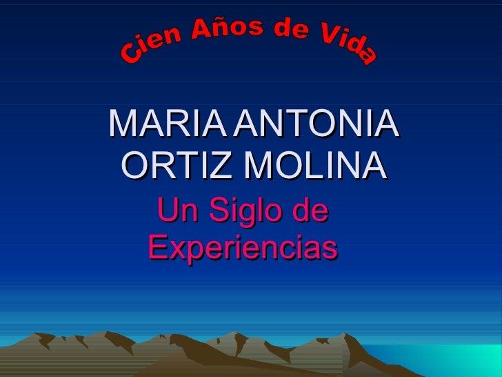 Maria Antonia Ortiz Molina2
