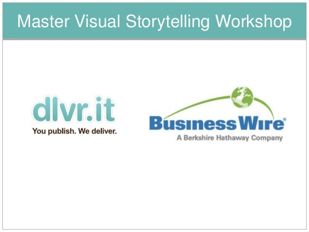 Master Visual Storytelling Workshop