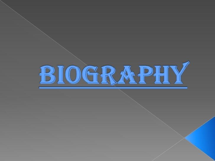Biography<br />