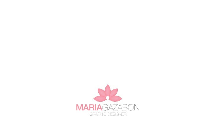 Portfolio - Maria Gazabon