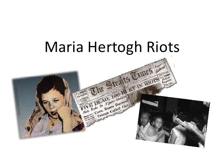 Maria Hertogh Riots