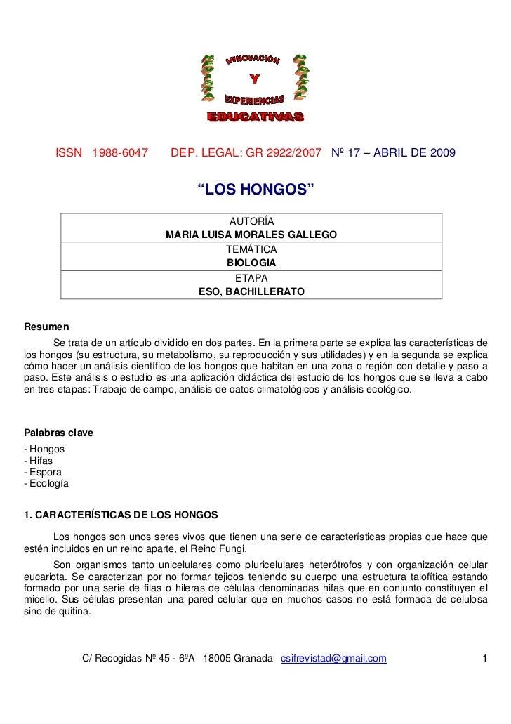 """ISSN 1988-6047             DEP. LEGAL: GR 2922/2007 Nº 17 – ABRIL DE 2009                                        """"LOS HONG..."""