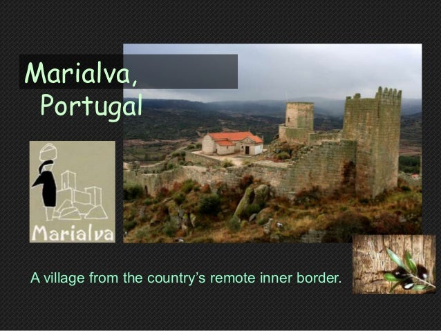 """A village from the country""""s remote inner border. Marialva, Portugal"""