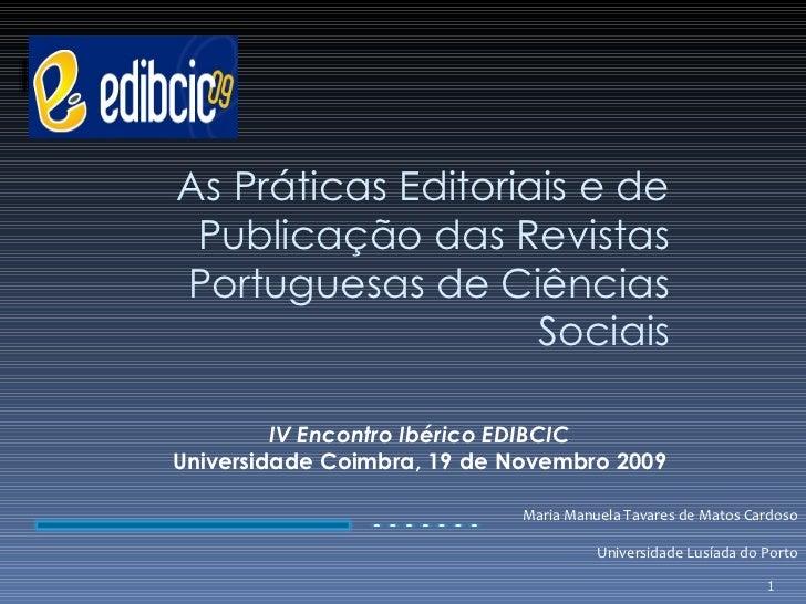 EDIBCIC_Universidade de Coimbra_2009
