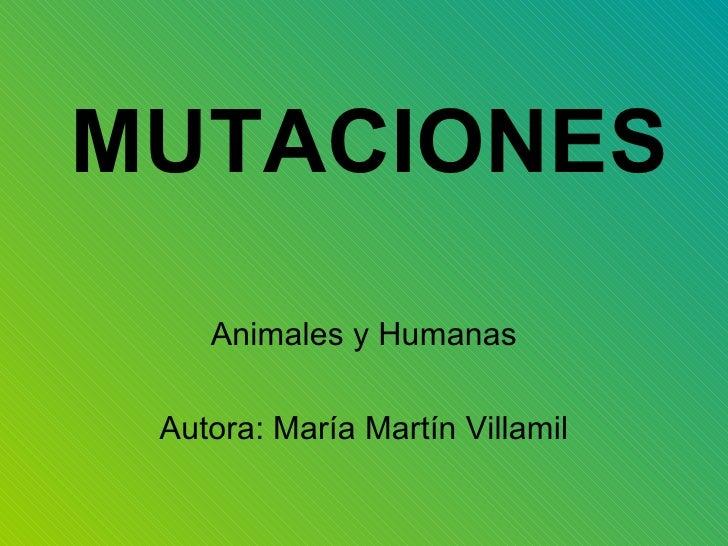 Maria Mutaciones