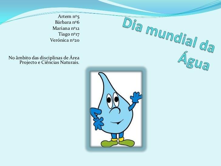 Artem nº5<br />Bárbara nº6<br />Mariana nº12<br />Tiago nº17<br />Verónica nº20<br />No âmbito das disciplinas de Área Pro...