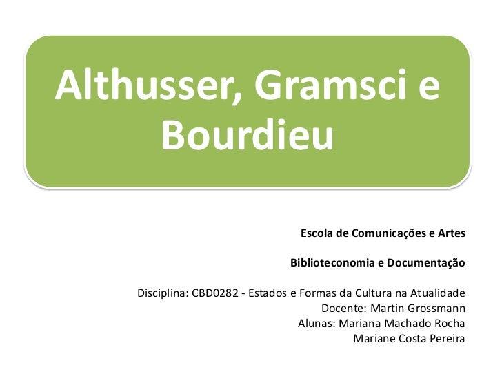 Escola de Comunicações e Artes<br /><br />Biblioteconomia e Documentação<br /><br />Disciplina: CBD0282 - Estados e Form...