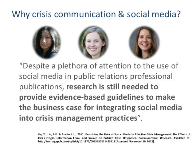 organizational communication in crisis of diet Every organization is vulnerable to crises the days of playing ostrich – burying  your head in the sand and hoping the problem goes away – are gone you can.