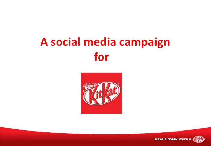 A social media campaign for<br />