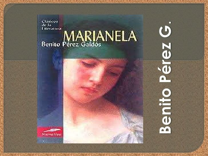 Marianela, joven huérfana y de pobres atributos físicos, sirve de lazarillode Pablo, joven ciego y de cómoda posición soci...