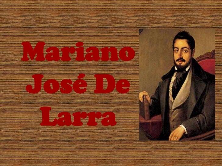 Mariano José De Larra<br />