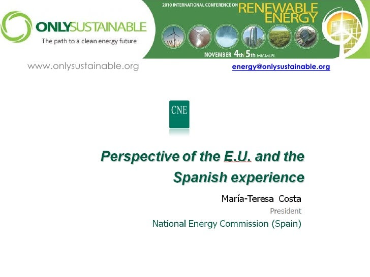 www.onlysustainable.org   energy@onlysustainable.org