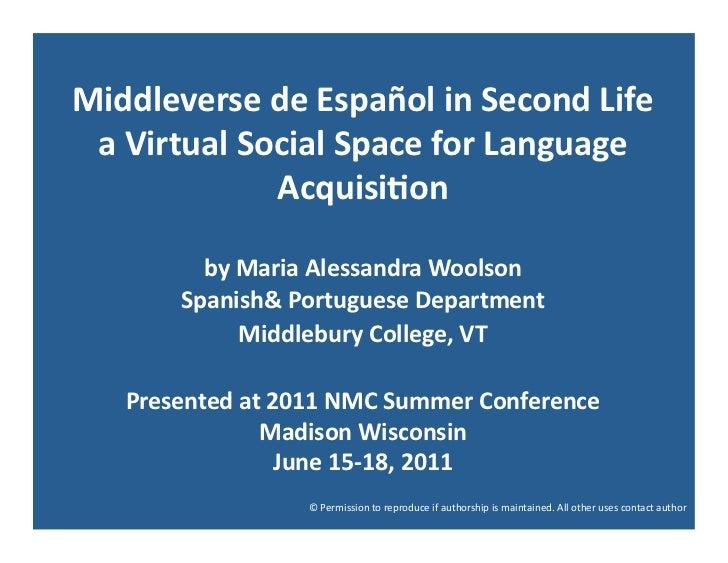 Madison Middleverse 2nd life