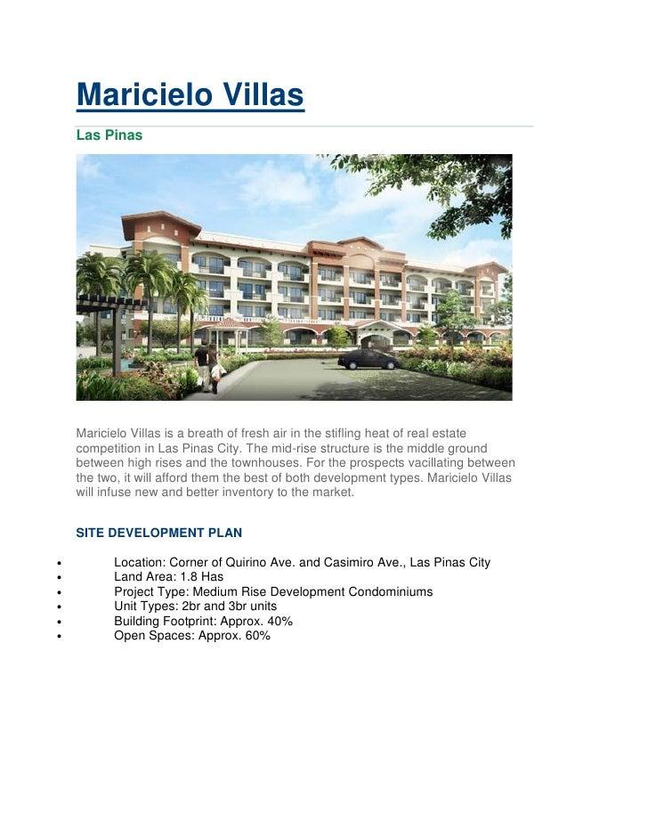 Maricielo Villas Vacation Resort Condo Great Investment No Spot Downpayment