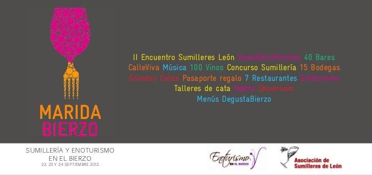 II Encuentro Sumilleres León VinosEntrePinchos 40 Bares                                  CalleViva Música 100 Vinos Concur...