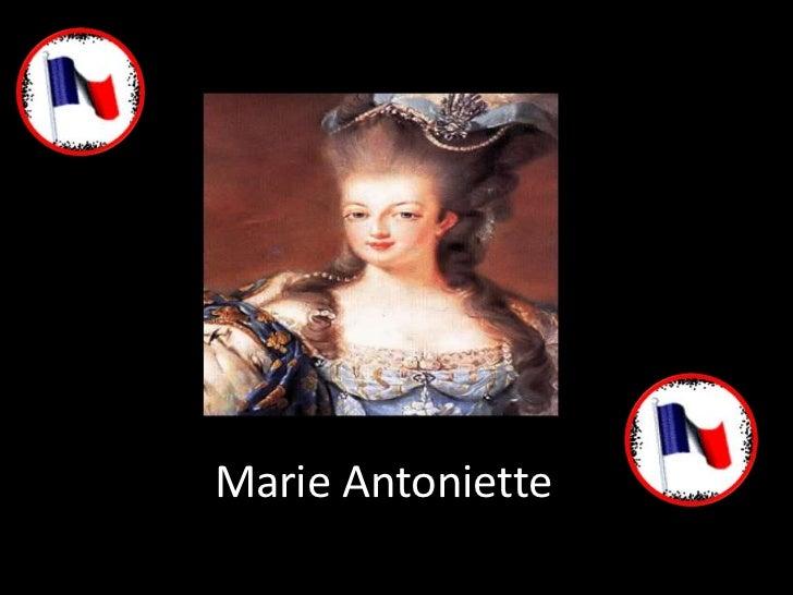 Marie Antoniette<br />