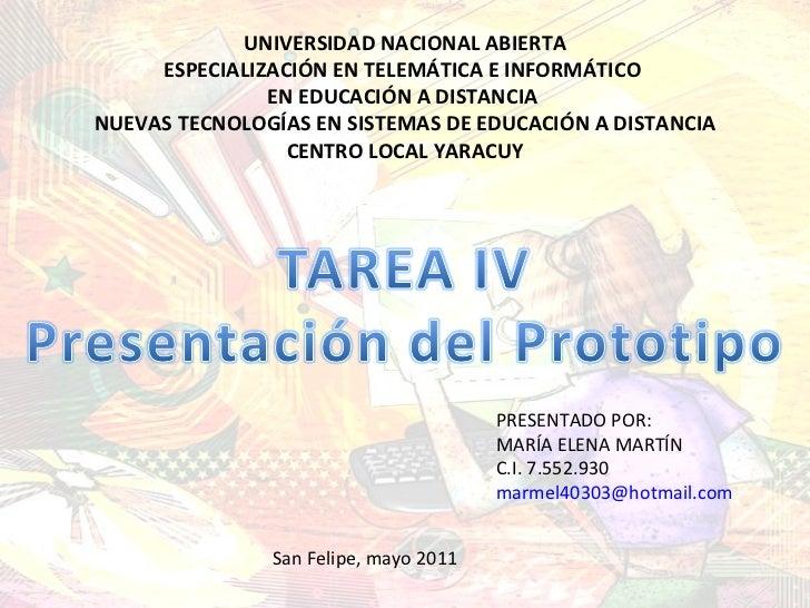 UNIVERSIDAD NACIONAL ABIERTA ESPECIALIZACIÓN EN TELEMÁTICA E INFORMÁTICO  EN EDUCACIÓN A DISTANCIA  NUEVAS TECNOLOGÍAS EN ...