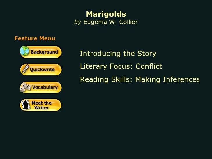 marigolds by elizabeth collier