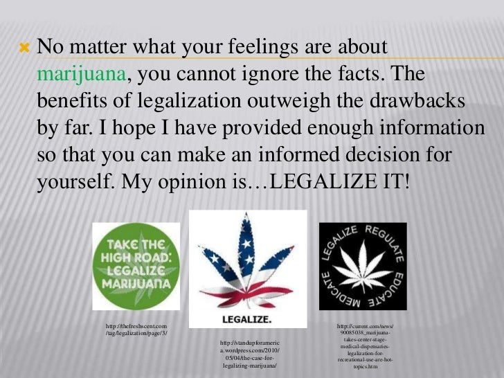 legalization of marjiuana the facts speech