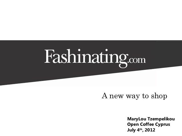 2nd OpenCoffee Cyprus 04/07/2012 - Fashinating