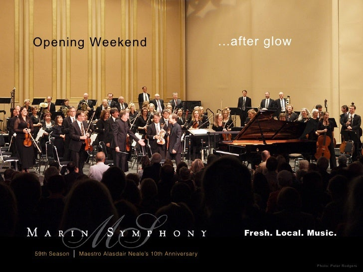 Opening Weekend                                               ...after glow                                               ...