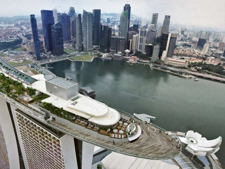 """Marina Bay's Contributions   Strong visitor arrivals   More spending per capita, and spending at    """"integrated resorts""""..."""