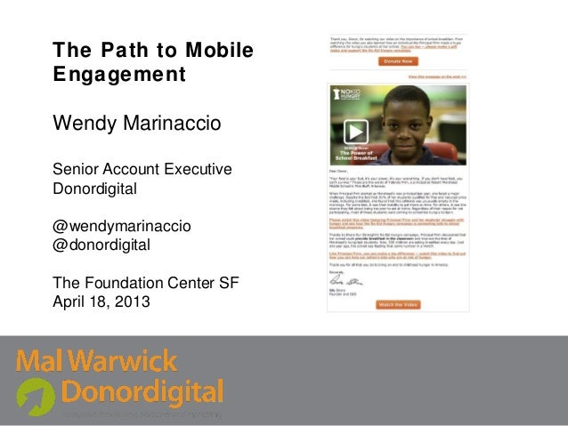 The Path To Mobile Engagement