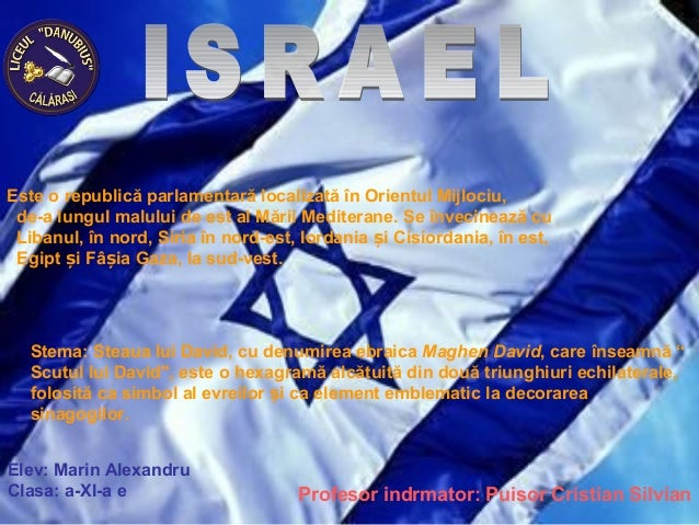 Marin alexandru israel prezentare power point
