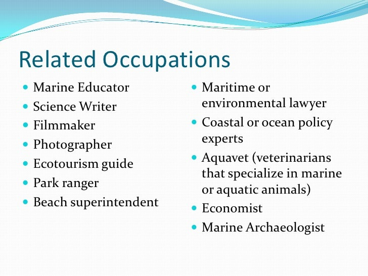 Marine Biologist Job Description – Marine Biologist Job Description