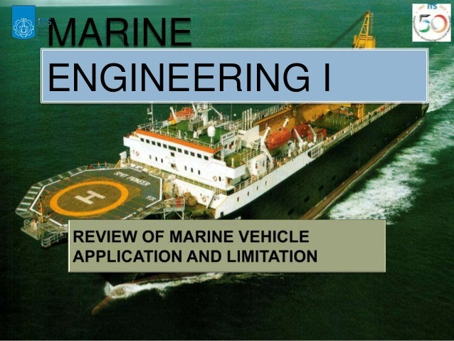MARINE ENGINEERING I