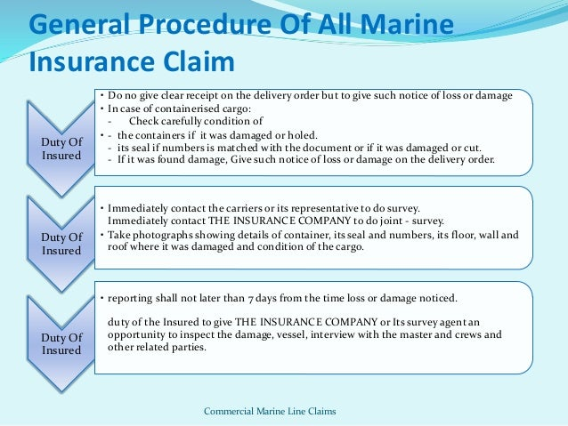 Case studies on insurance claims