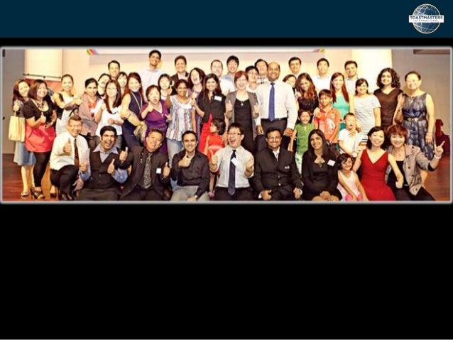 The Club of Champions! Marine Parade Toastmasters Club