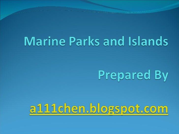 Marine Parks