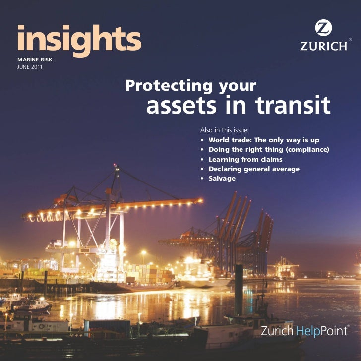 Zurich Marine Risk Insight 2011