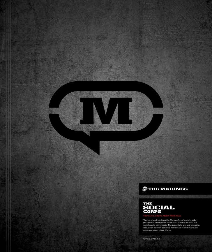 Marine Corps Social Media Handbook
