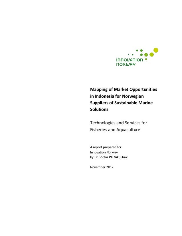Marine sector opportunity study   indonesia nov  2012