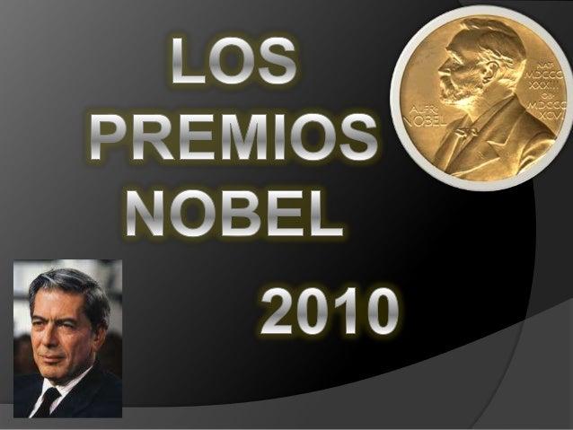 El Premio Nobel se otorga cada año a personas que hayan hecho investigaciones sobresalientes, inventando técnicas o equipa...