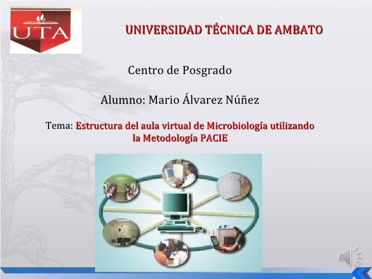 UNIVERSIDAD TÉCNICA DE AMBATO                  Centro de Posgrado            Alumno: Mario Álvarez NúñezTema: Estructura d...
